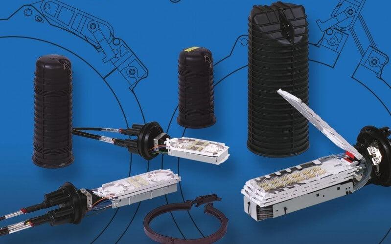 FOSC-400 Муфта оптическая для городских и магистральных сетей.