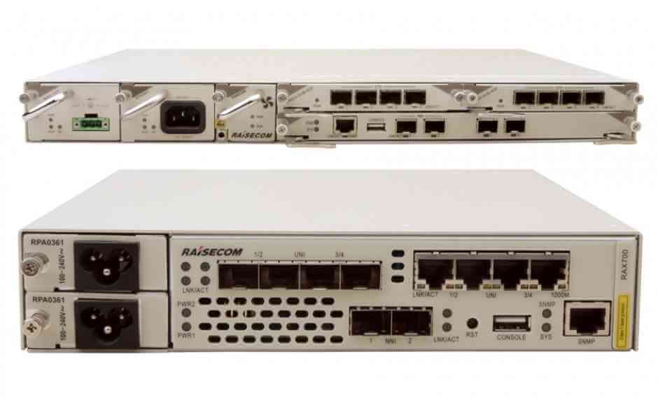 SDN Enabled EDD  ISCOM RAX711-G, iTN201-D