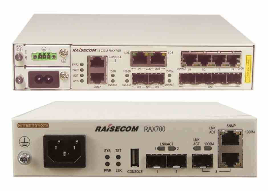 Ethernet Demarcation Device ISCOM RAX711(B), ISCOM RAX701