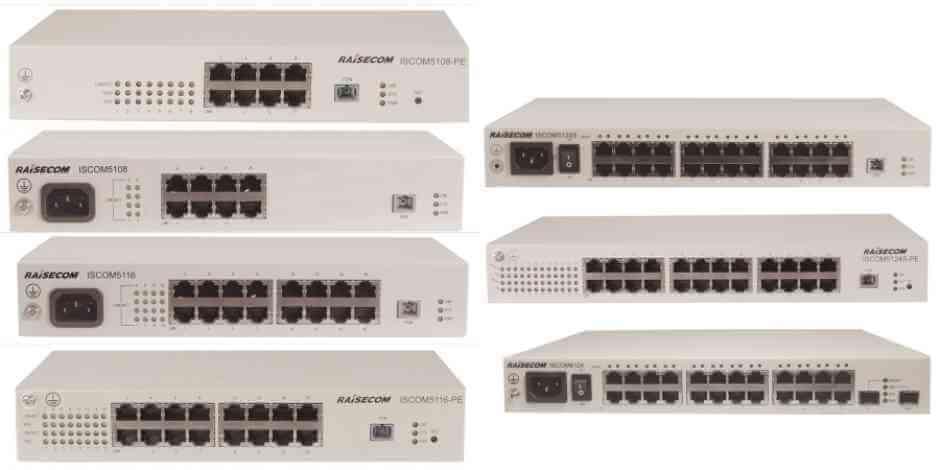 EPON MDU ISCOM5100 series / 6100 series