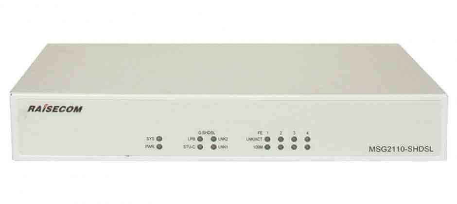 Модем MSG2110-SHDSL Router Raisecom