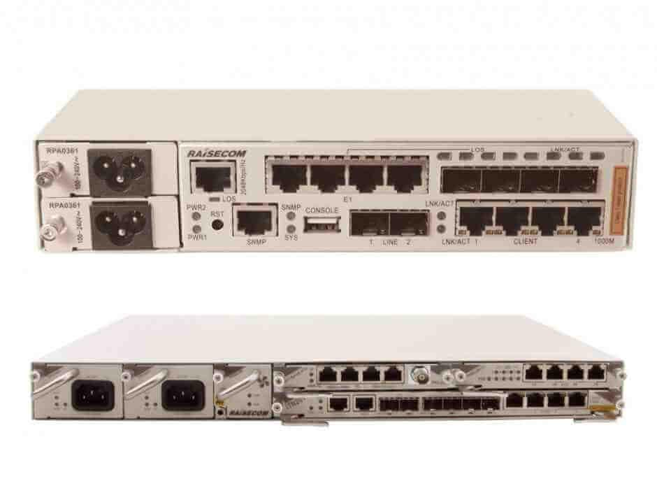 IP-MPLS CPE  ISCOM RAX711-R, iTN201-R