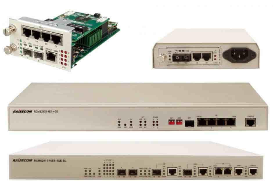 Multi-Service FiberMux  RCMS2900 Series