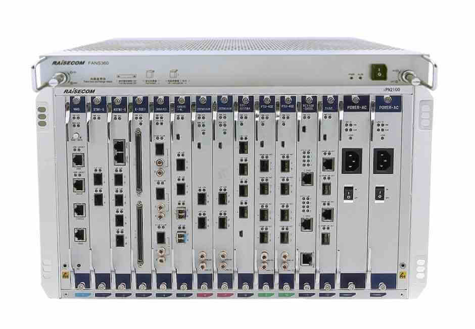 Dual-Core Architecture PTN Aggregation Platform  iTN2100