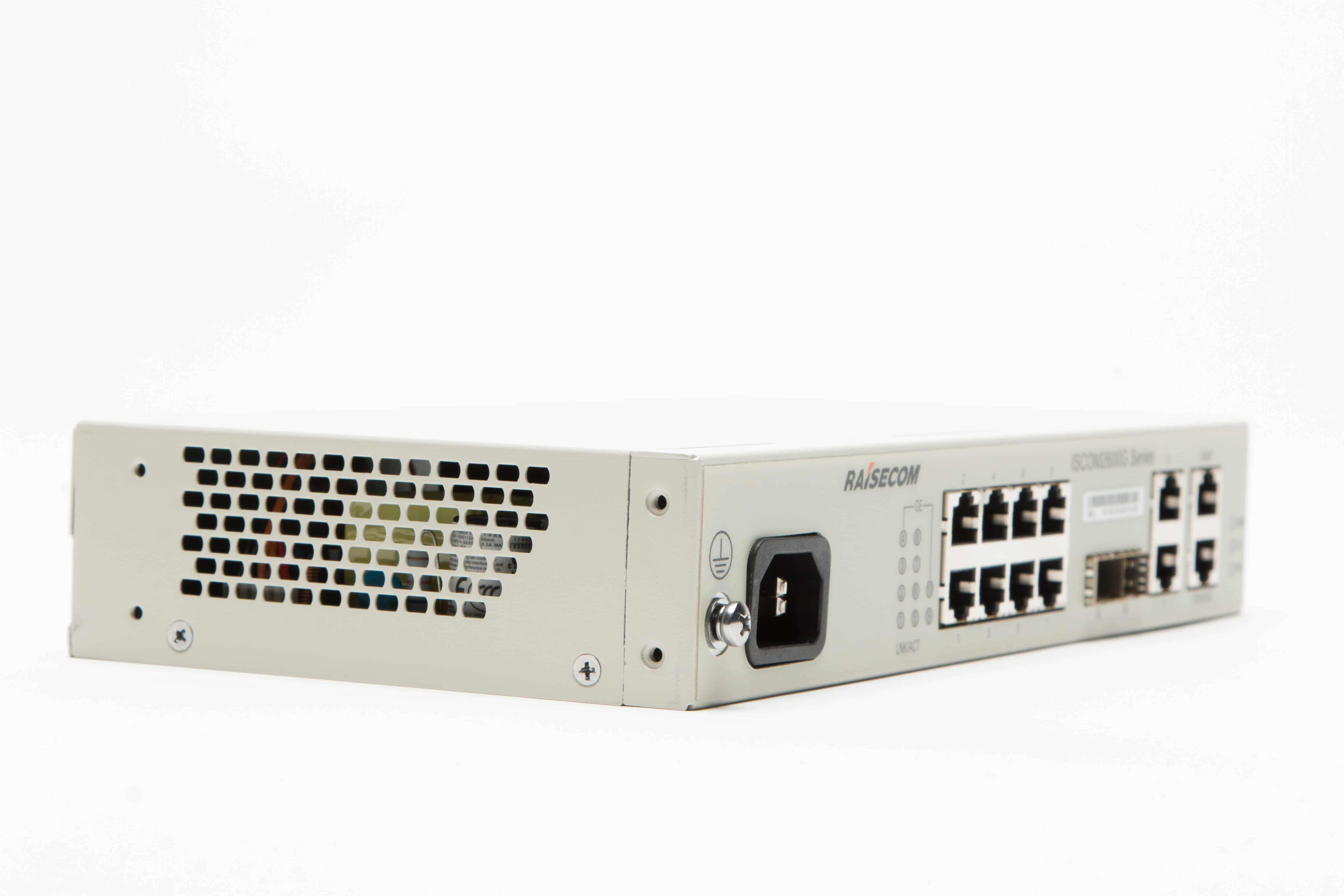 Медный L2+ коммутатор ISCOM 2608G-2GE-AC