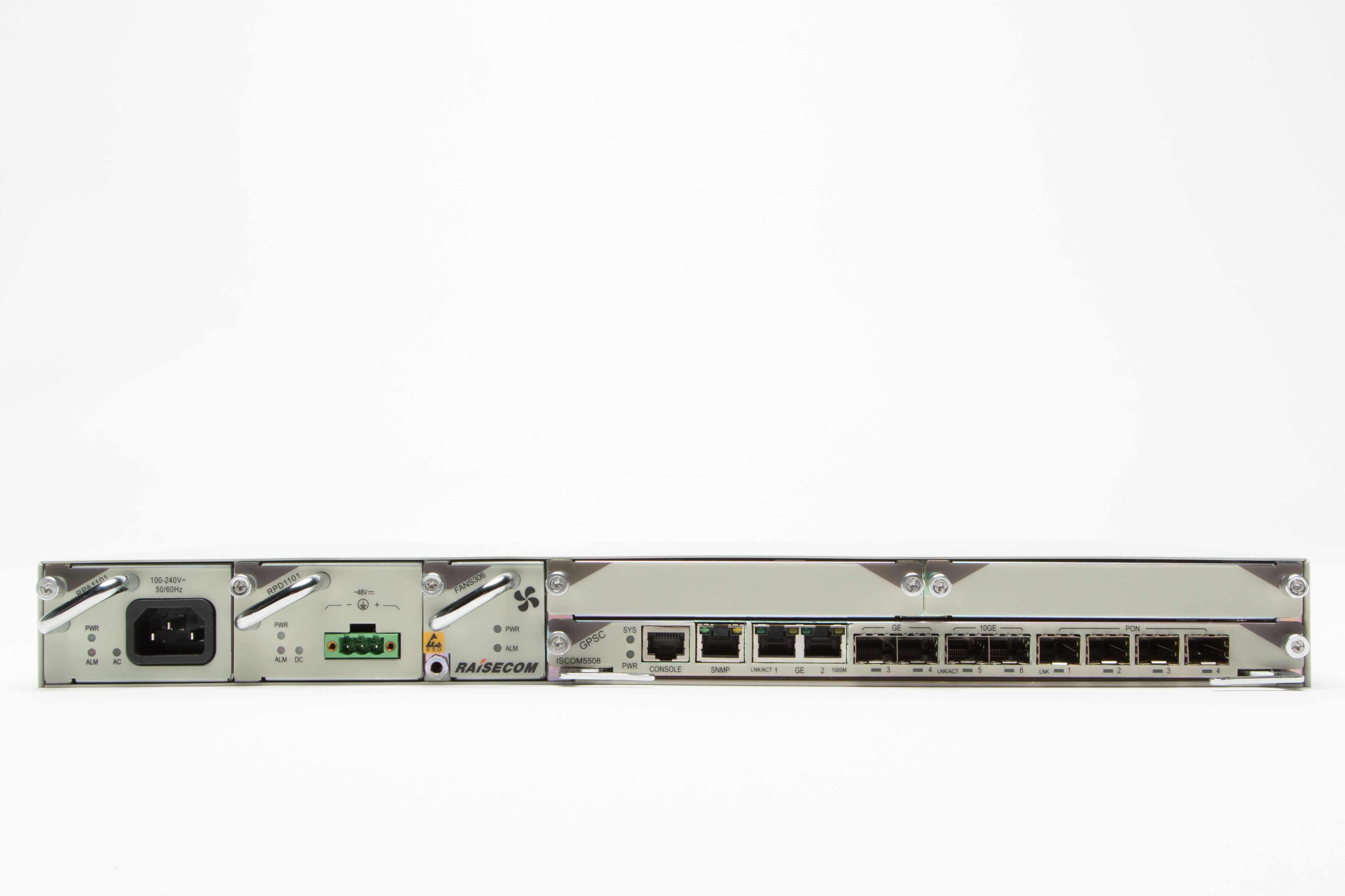 Оптический линейный терминал Raisecom  ISCOM5508-GP
