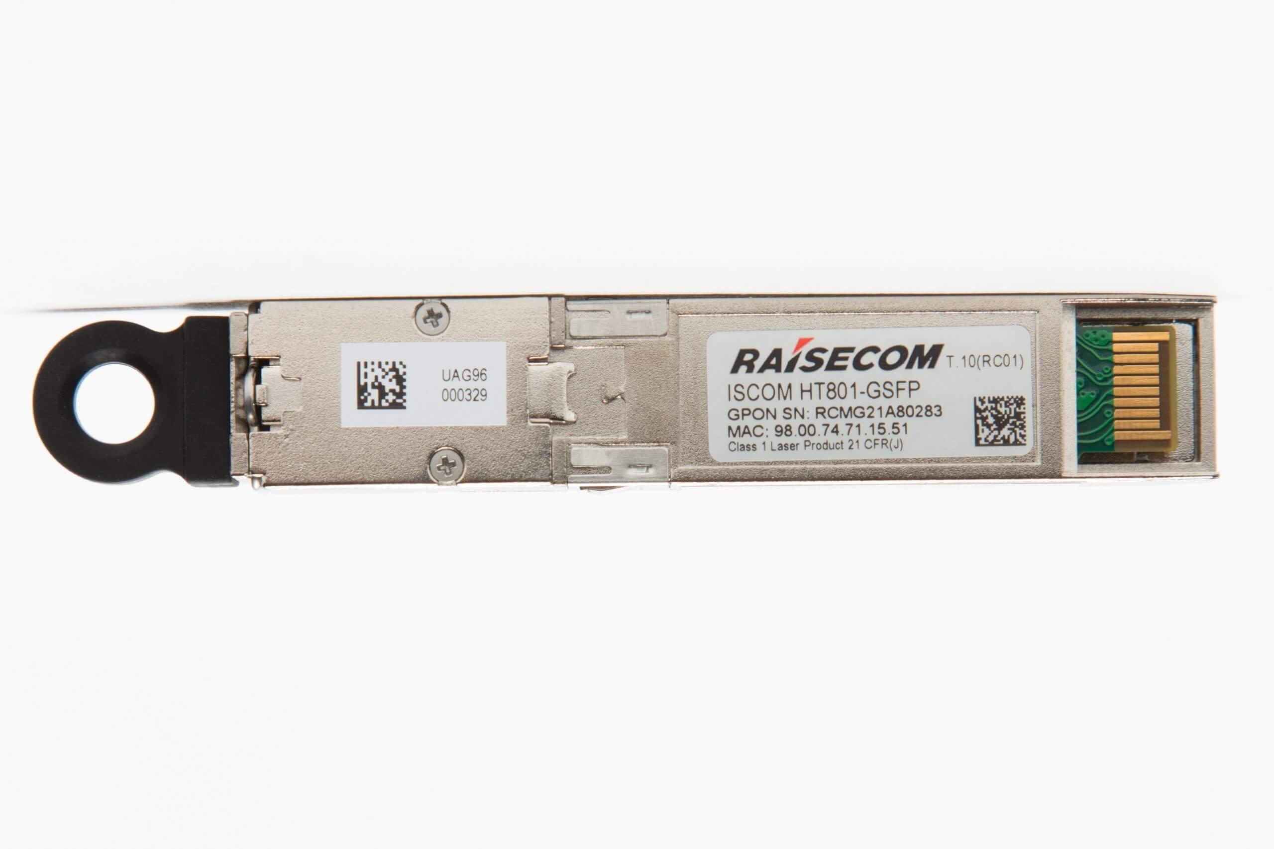Абонентский L2 терминал Raisecom ONT/ONU ISCOM HT801-GSFP