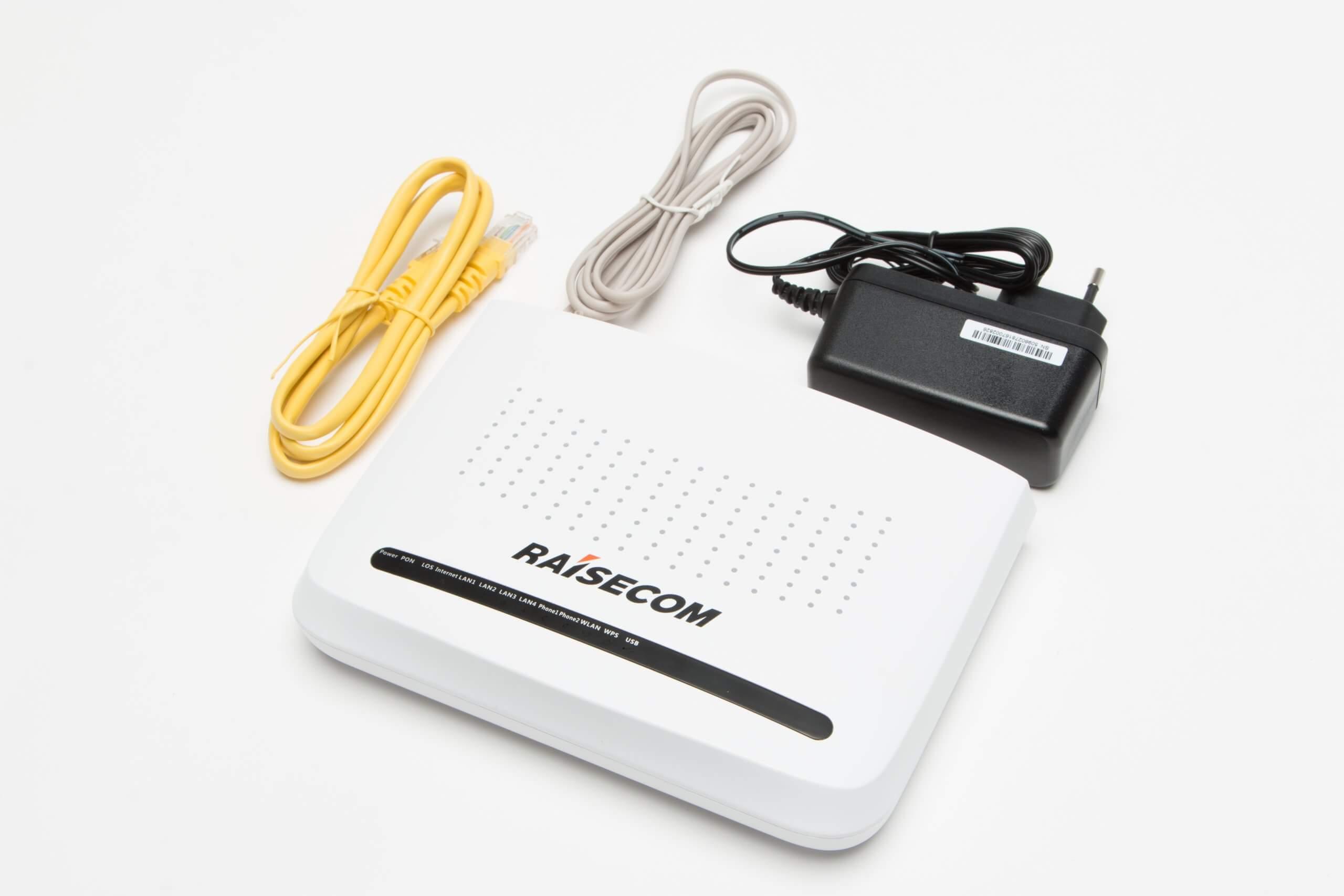 Абонентский L3 терминал Raisecom ONT/ONU ISCOM HT803G-W